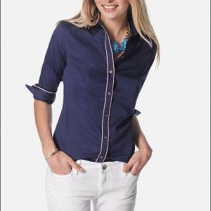 Banana Republic Milly Collection Blouse, Size 6